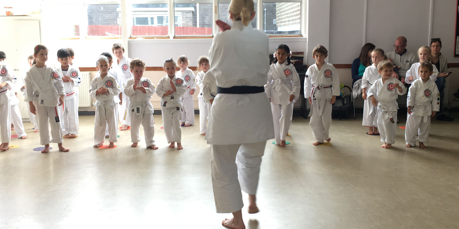 Tots and infant karate classes